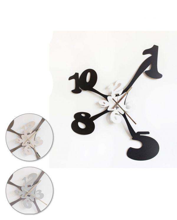 orologio tira e molla tre colori arti e mestieri