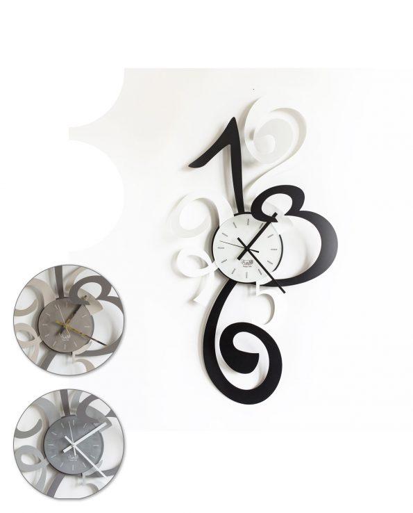 orologio truciolo tre colori arti e mestieri