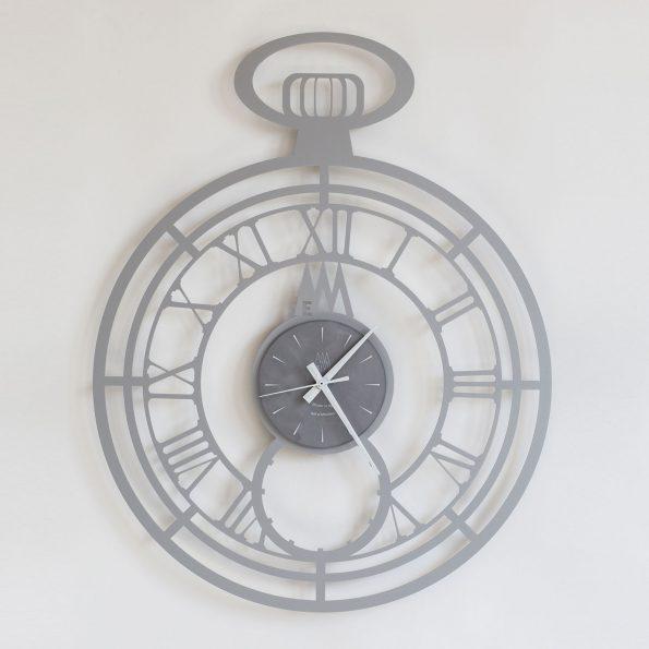orologio big cipollone alluminio arti e mestieri