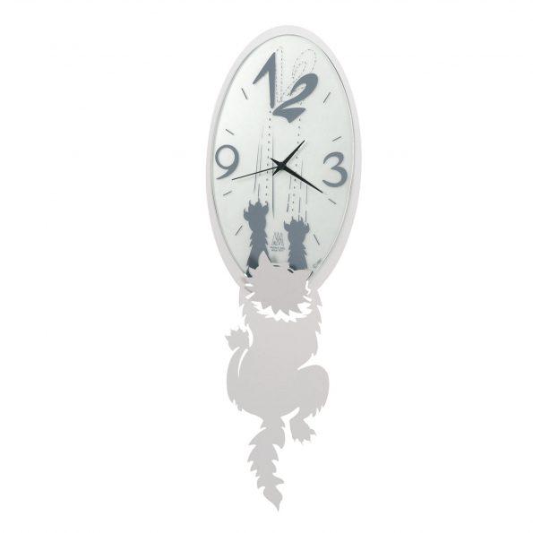 orologio da parete design crazy tommy arti e mestieri