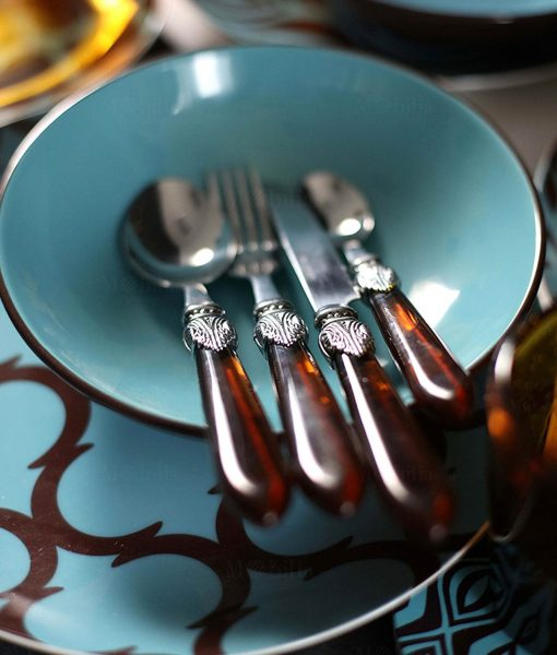 Servizio di piatti moderni Glamour Villa d'Este