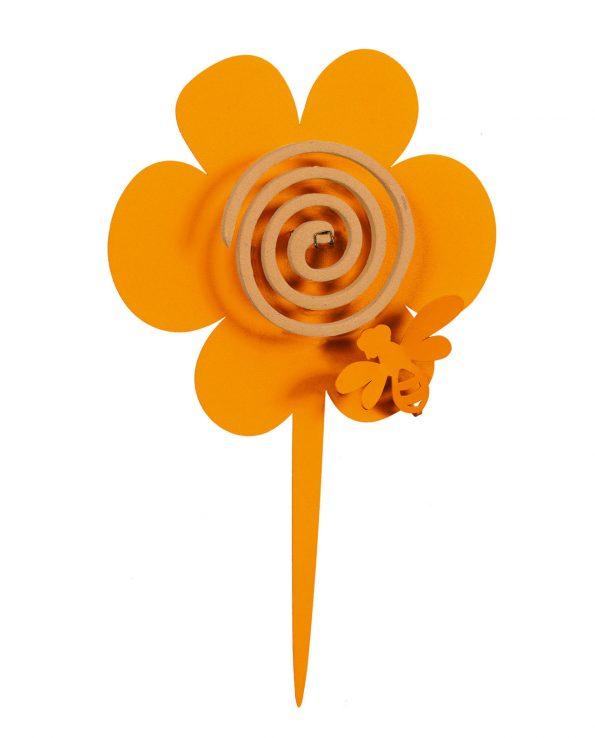 portazampirone design girasole colore arancione