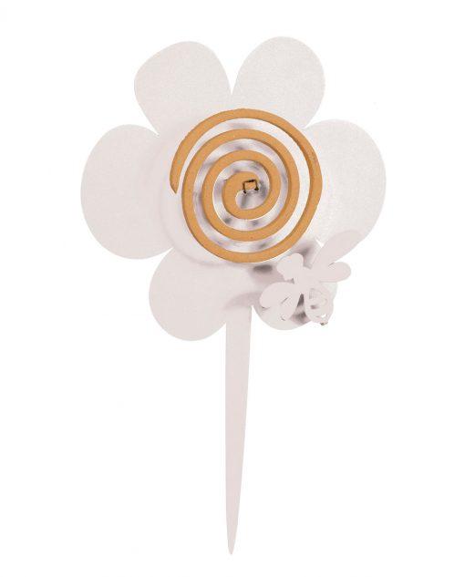portazampirone design girasole colore bianco
