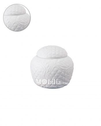 Scatola bianca Vanitas versace in porcellana Versace