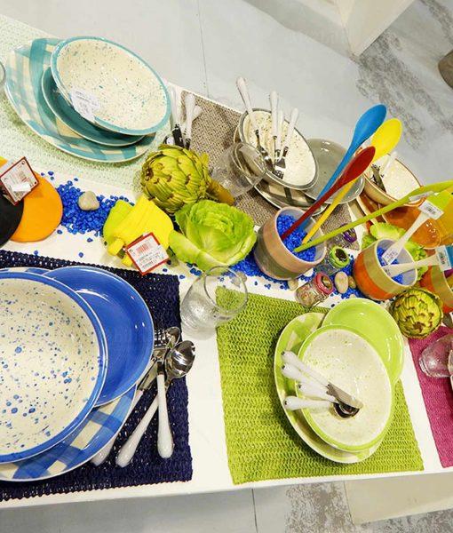 Servizio piatti 18 pezzi Ischia Villa d'Este