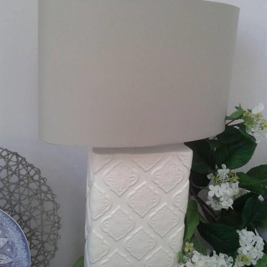 lampada rettangolare tognana in ceramica