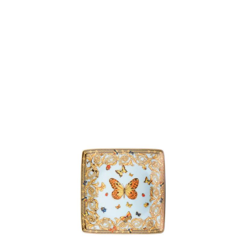 Coppa piccola quadra piana Le jardin de Versace