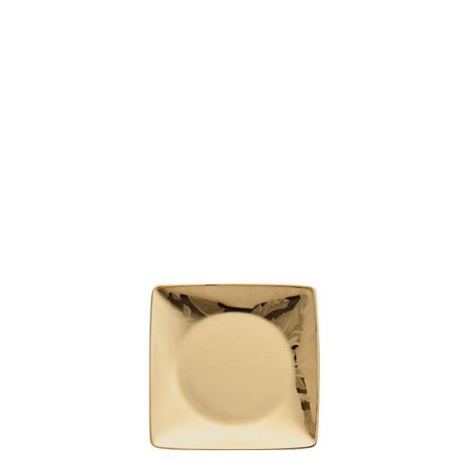 Versace Vanity, La Dore?e Coppetta quadra piana 12 cm