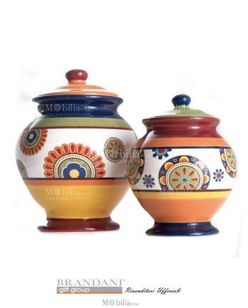 Barattoli ceramica Messico Brandani