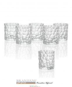 Set da sei bicchieri Brandani