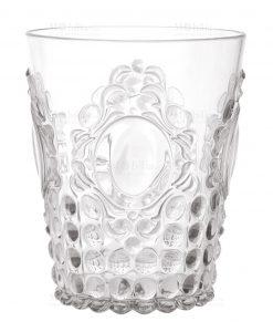 bicchieri da acqua in acrilico set 6 pz