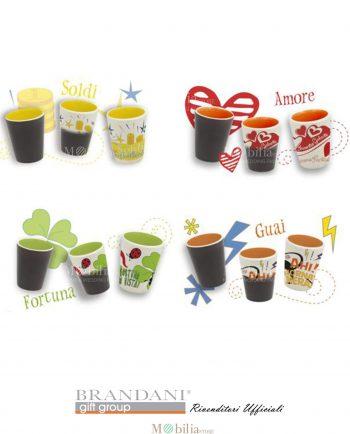 Bicchierini per Caffè L'Oracolo Brandani