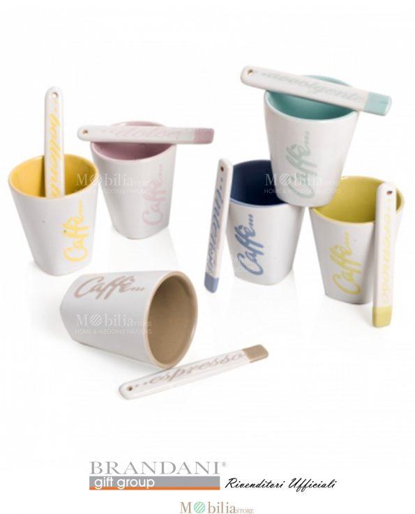 Bicchierini per Caffè Ceramica Brandani