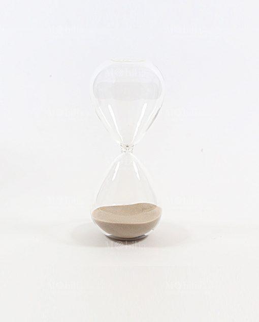 clessidra media 10 minuti marrone