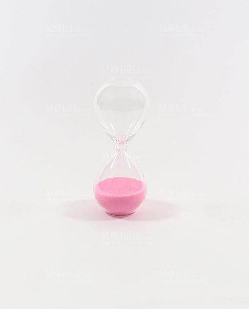 clessidra piccola 3 minuti rosa ad bomboniere
