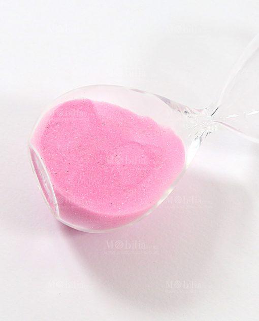 clessidra rosa ad bomboniere