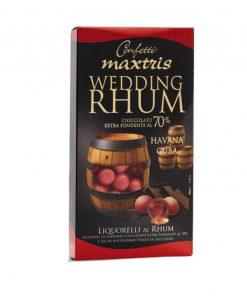 confetti maxtris liquorelli wedding rhum