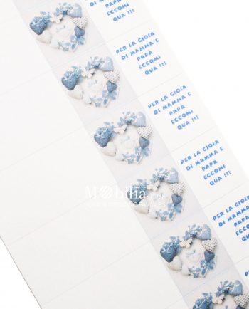 Bigliettini bomboniere tema mare con stelle marine set 10 for Mobilia frasi