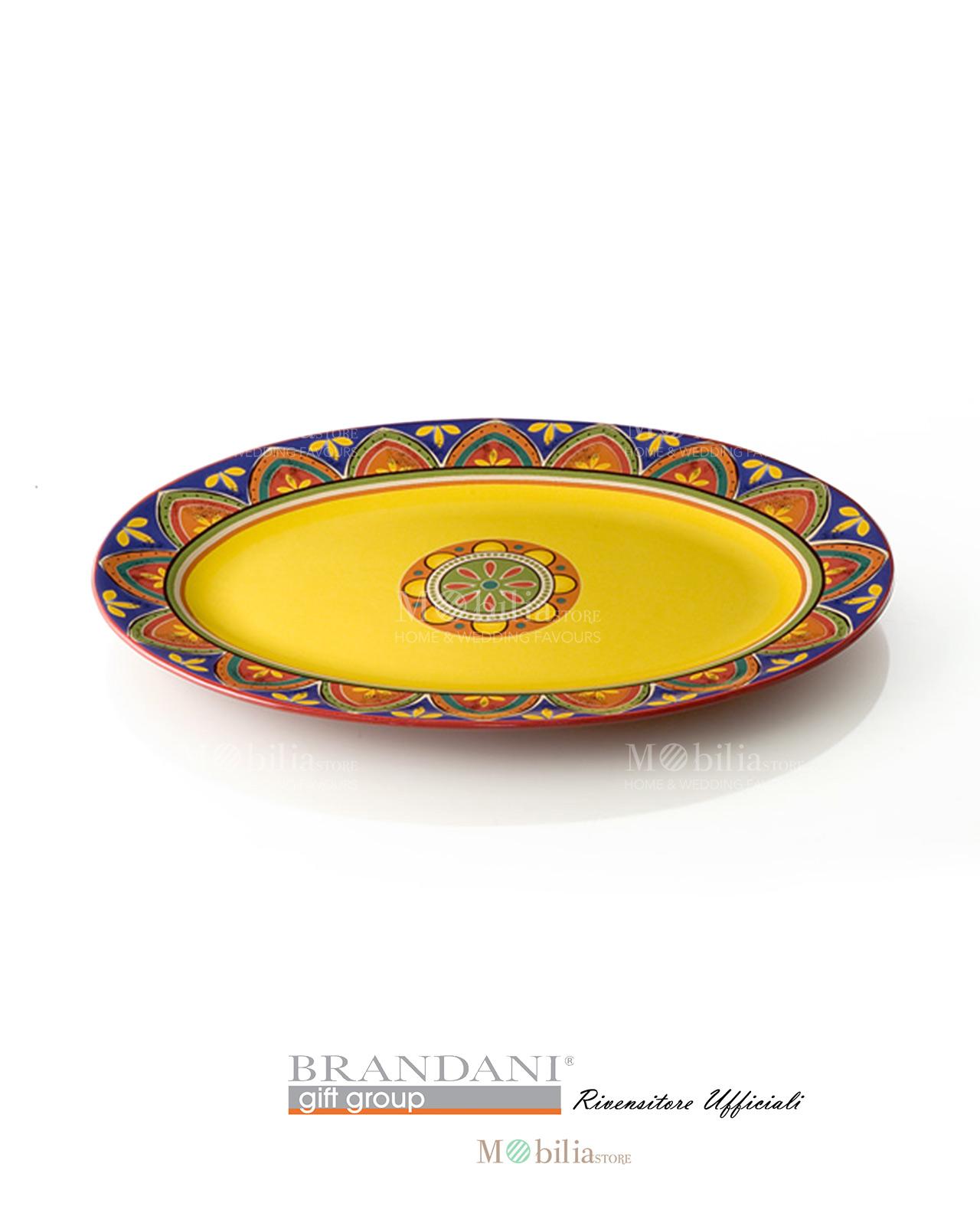 Piatto da portata ovale piccolo ceramica brandani - Piatto da portata ...