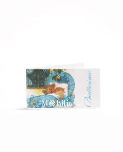 battesimo bibo con orsacchiotto azzurro 1