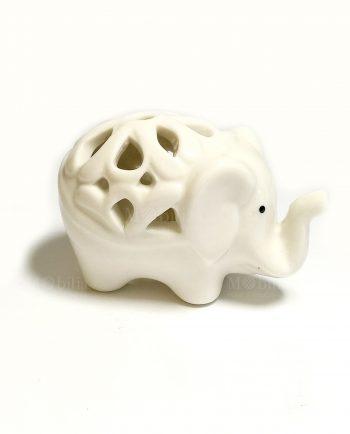 Bomboniere Elefante Porcellana