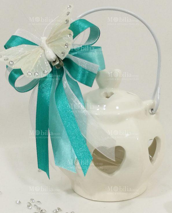 Bomboniere Matrimonio Lanterna Grande Ceramica