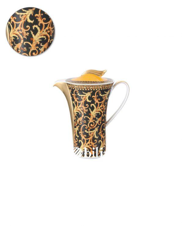 lattiera in porcellana versace ikarus barocco
