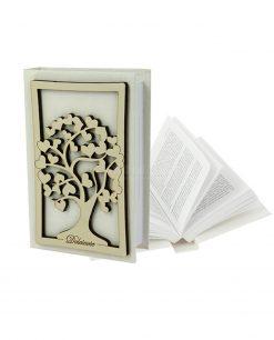 vangelo con albero della vita legno avorio