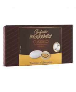 Confetti maxtris cioccomandorla bianco