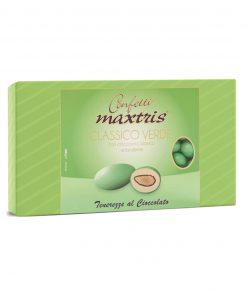 Confetti maxtris cioccomandorla verde