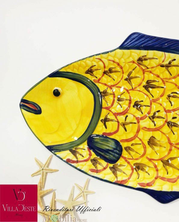 Piatti da Portata Pesce Colorati Marine Villa D'Este