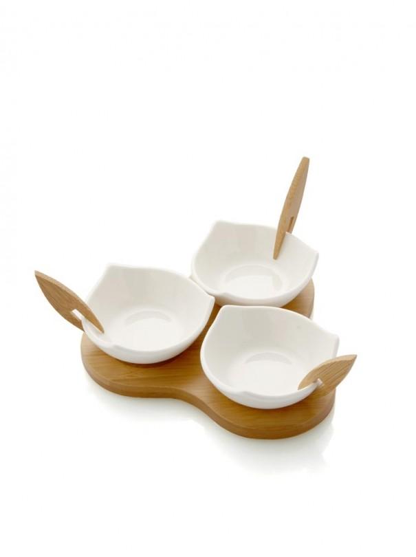 brandani-antipastiera-trifoglio-in-porcellana-e-supporto-in-bamboo-55752