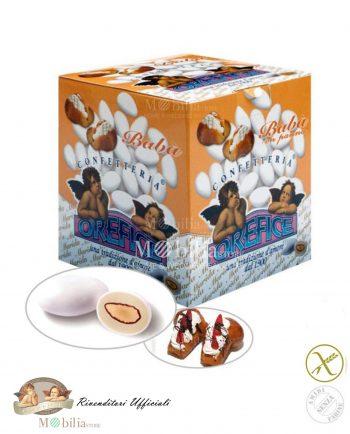 Confetti ripieni senza Glutine Mandorla Cioccolato Babà