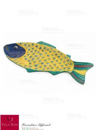 Piatti Pesce da Portata Colorati Marine Villa d'Este