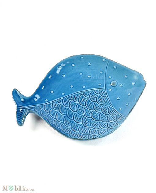 piattino per antipasti a forma di pesce