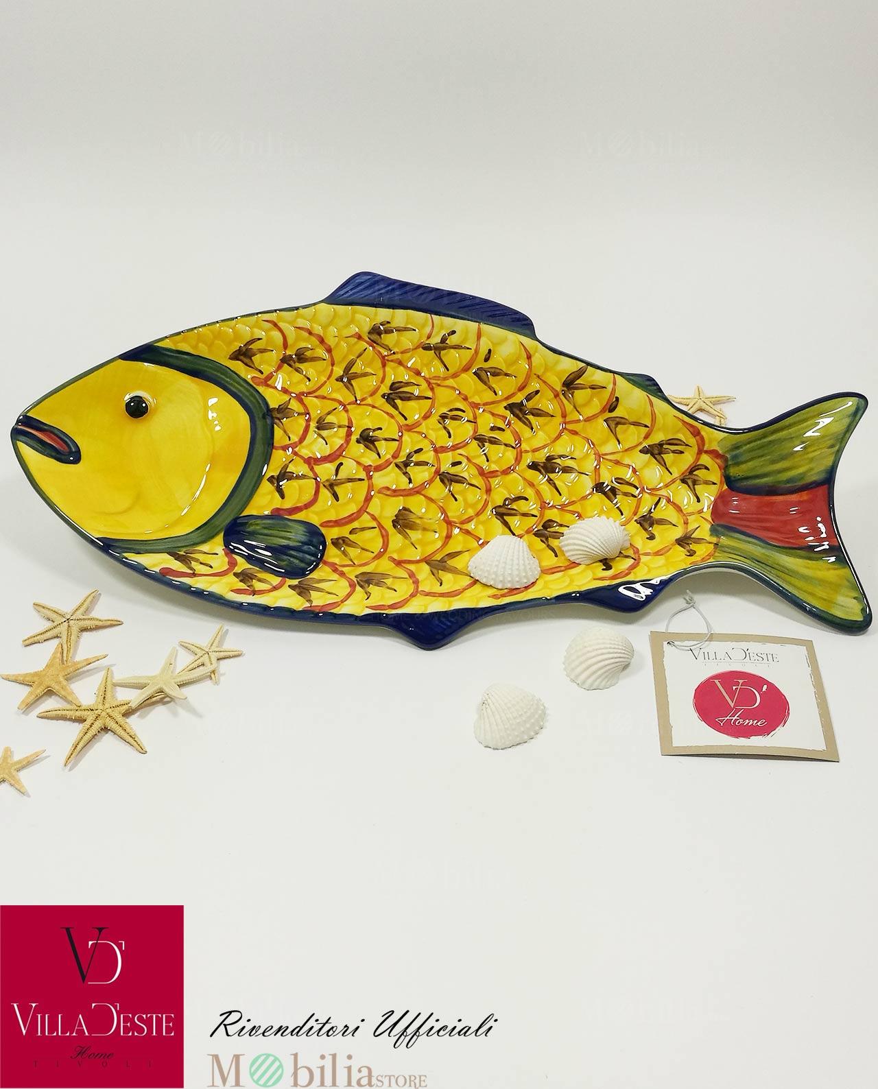 Piatti da portata pesce colorati marine villa d 39 este - Piatti da portata particolari ...