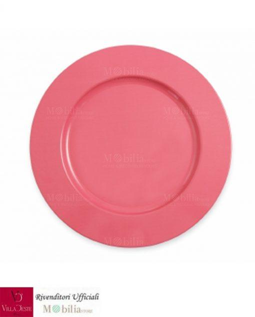 sottopiatti rosa