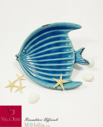 Svuotatasche Ceramica Pesce Blu Marine Villa d'Este