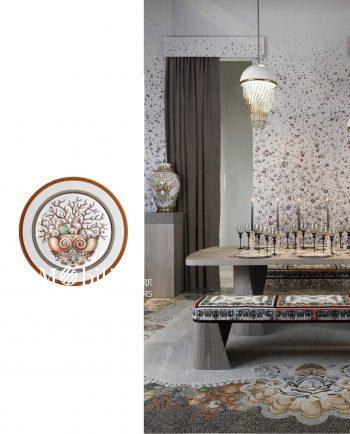 Bomboniera Luxury Piattino Versace Les Etoiles de la Mer