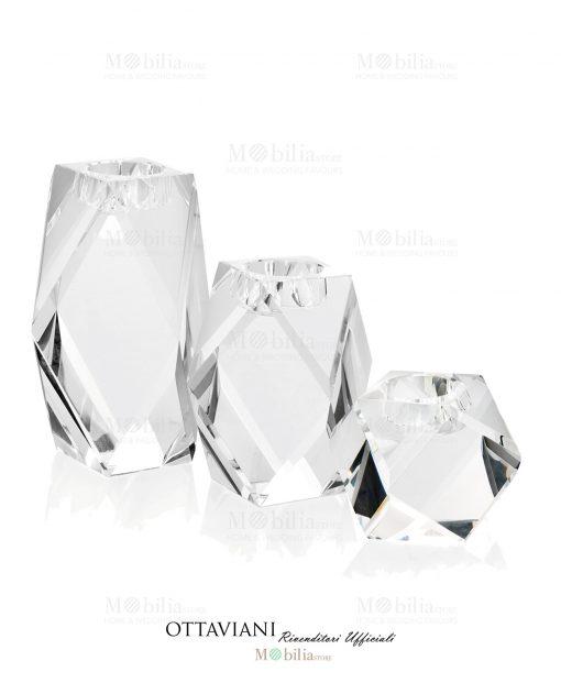 Candelabro cristallo Ottaviani Home
