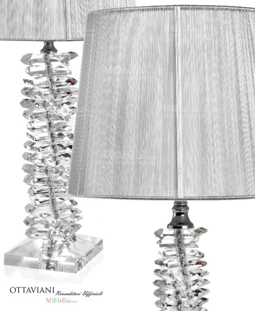 Lampada crysta ice galleria