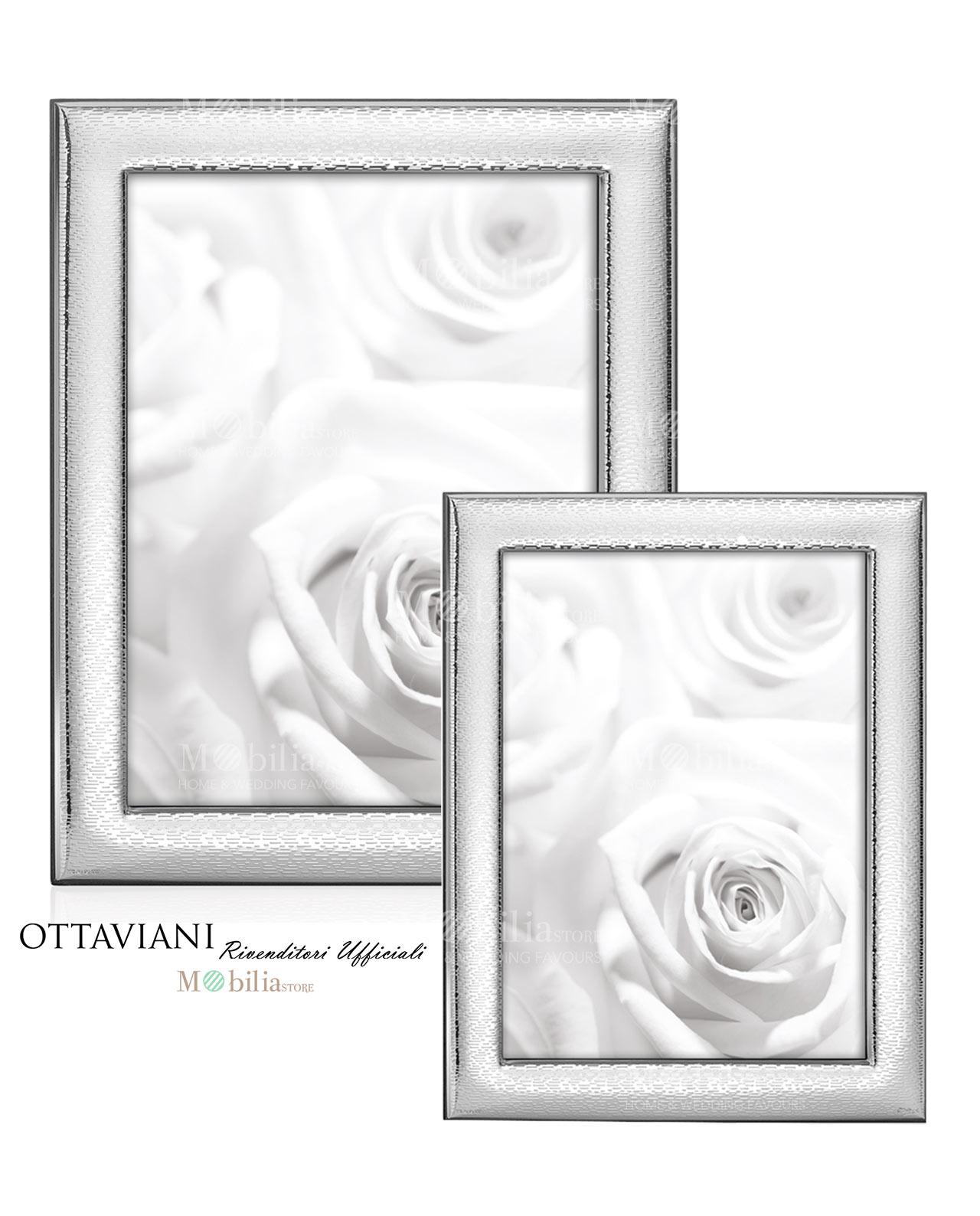 Portafoto argento modello Vita Ottaviani