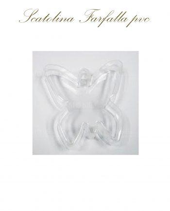 Scatoline Portaconfetti Trasparenti Farfalle