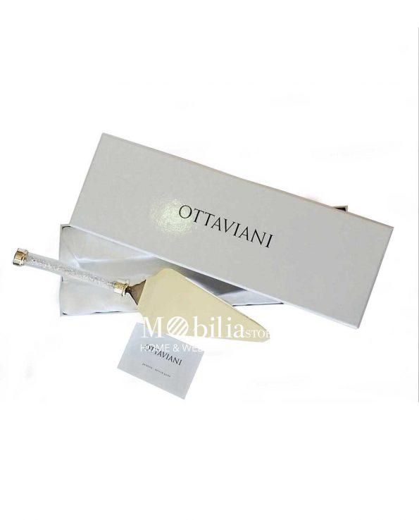 Paletta Torta Ottaviani Diamonds con cristalli Bianchi o Gold