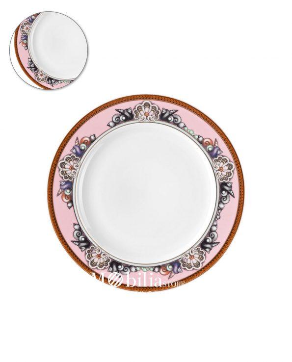 piatto piano piccolo rosa versace les etoiles de la mer