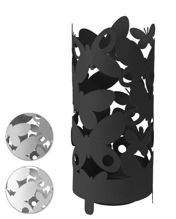 Portaombrelli moderno in ferro Butterfly vari colori Arti e Mestieri