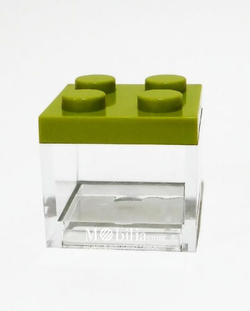scatola lego verde 1