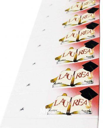Bigliettini bomboniere Laurea Pergamena e Tocco