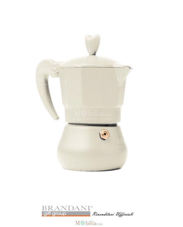 Caffettiera 1- 3 tazze vari colori Brandani