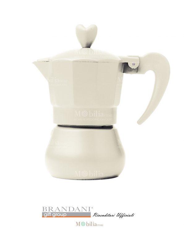 Caffettiera 1- 3 tazze Colorate Brandani